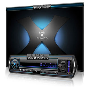 DVD X Player main interface